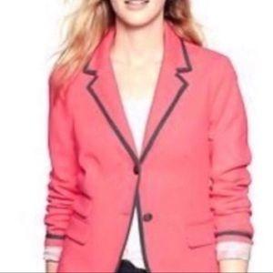Gap Academy Blazer Pink Coral Jacket Sz 10